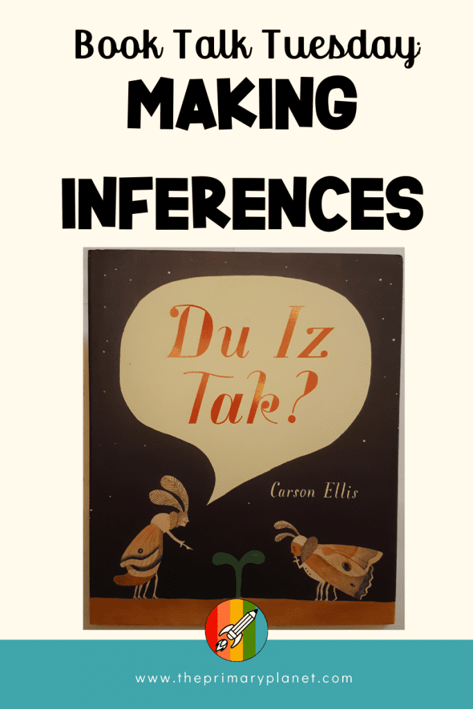Mentor Text for Making Inference
