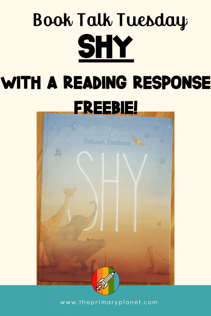 Read Aloud: Shy with Free Reading Response