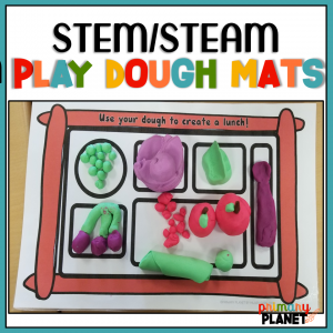 Play dough mats printable
