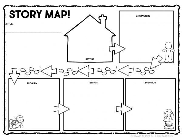 Story Map Reading Comprehension Activity