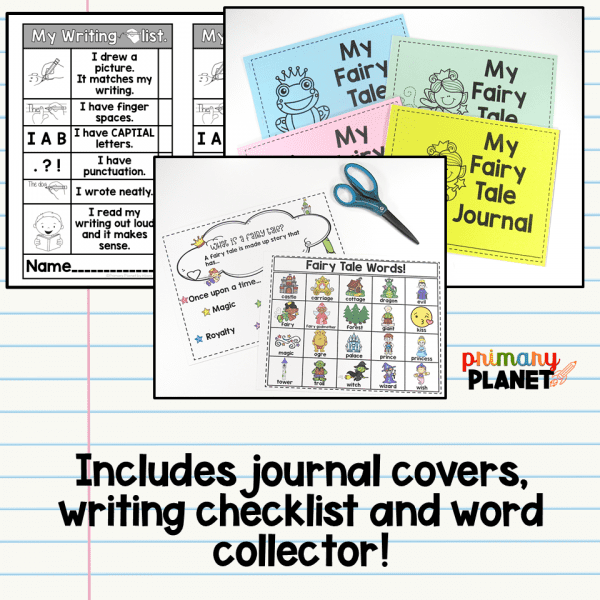Fairy Tale Activities: Picture Writing Prompts for Younger Students!