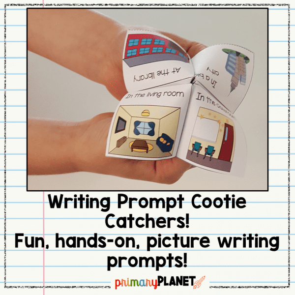 Writing Prompt Cootie Catchers Anytime